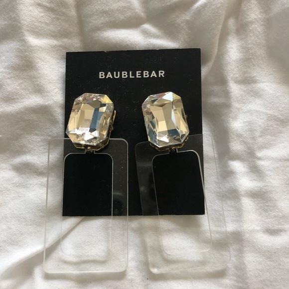 BaubleBar Jewelry - NWT BaubleBar Luza Lucite Drop Earrings